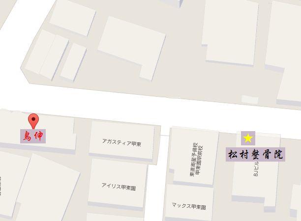 鳥伸 甲東園 地図